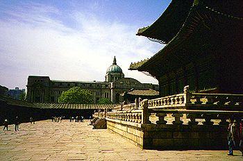 Gyeongbokgung-Palast Seoul ehemaliges japanischen Kolonial-Hauptquartier