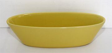 Ikebana Kleine Schale flach gelb