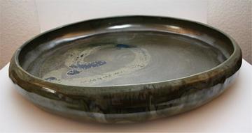 Keramik Flachschale handgemacht
