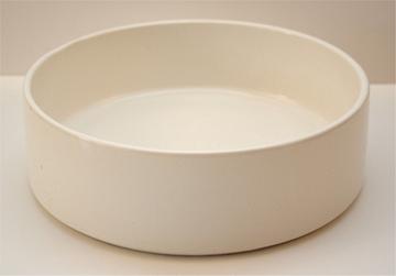Flachschale Keramik rund