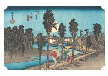 Hiroshige 53 Stations of Tokaido Nr 13 Numazu